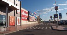Световые короба в Торговом Парке №1 г. Тверь