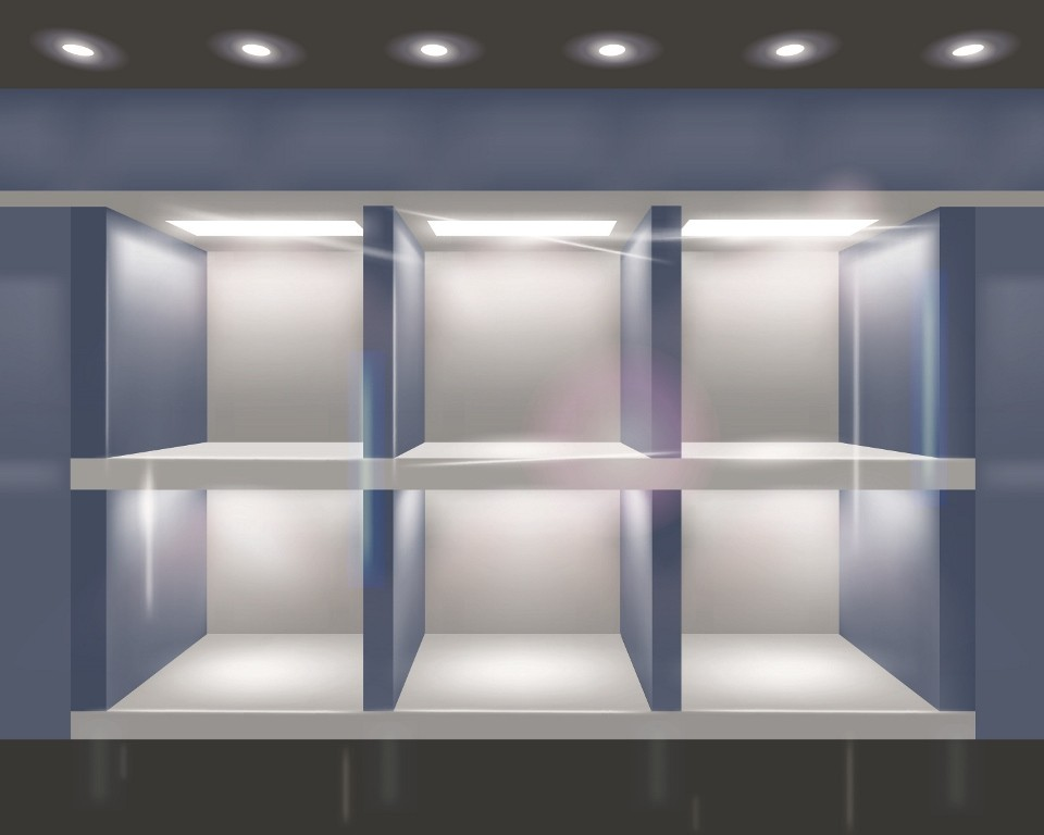 Оформление витрин быстро и профессионально