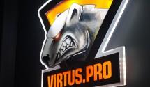 Светящийся логотип Virtus.pro
